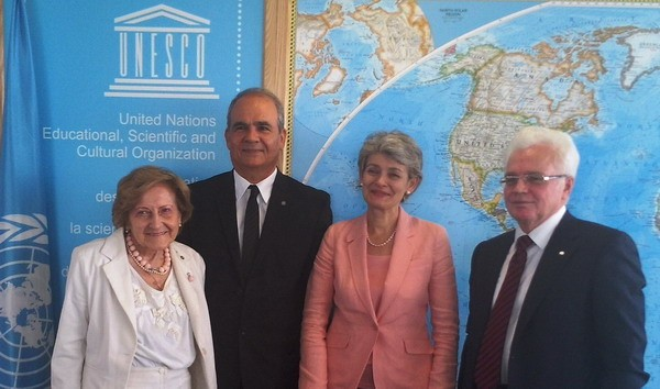 MEETING OF THE DIRECTOR-GENERAL OF UNESCO WITH THE PRESIDENT OF WFUCA